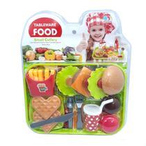 Kit Lanchonete Fast Food 12pç 8802-4 - Esm