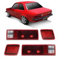 Kit Lanterna Traseira Chevette Sedan 80 81 82 - Jcv