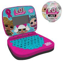 Kit Laptop Infantil Bilíngue LoL Suprise +  LoL Suprise Lils - Candide