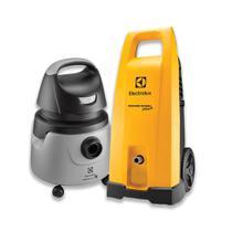 Kit Lavadora deAltaPressãoPower Wash Plus + Aspirador de Pó e Água 1250W Smart (EWS31)+(A10N1) - Electrolux