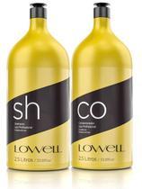 Kit Lavatório Profissional Shampoo 2,5 L + Condicionador 2,5 L - Lowell
