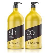 Kit Lavatório Profissional Shampoo 2,5L + Condicionador 2,5L - Lowell -