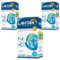 Kit Lavitan A-Z Homem 03 Caixas 60 Comprimidos - Cimed