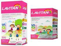 Kit Lavitan kids polivitamínico comprimido e liquido infantil - Sampafarm.Store