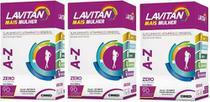 Kit Lavitan Mais Mulher c/3x90 vitaminas melhor que Centrum - Sampafarmstore