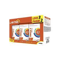 Kit lavitan omega 3 1g 3 frascos 60 capsulas - Cimed