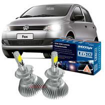 Kit LED 2D Headlight Shocklight tipo xenon Fox 2010 até 2020 - farol baixo H7 35W -