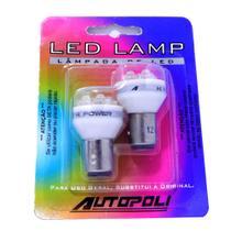 Kit Led Autopoli 12V com 04 leds Branca 1034-12V Hi-Light -