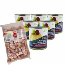 Kit Leite Condensado Diet 6 Uni E Caramelo De Leite Diet 1kg - Hué Alimentos
