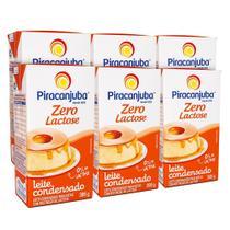 Kit Leite Condensado Piracanjuba Zero Lactose 6x395g -