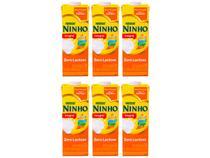 Kit Leite Integral Zero Lactose UHT Ninho 1L - 6 Unidades