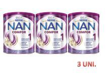 Kit leite nan confor 1 nestle - 3 unidades - Nestlé