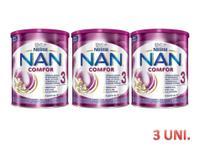 Kit leite nan confor 3 nestlé - 3 unidades -