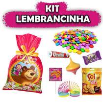 Kit Lembrancinha Masha e o Urso 08 unidades - Festabox