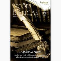Kit Lições Bíblicas Adultos 5 Professor + 15 Aluno - CPAD