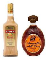 Kit Licor Amaretto Dell Orso 700ml + Licor Stock Marula 720m -