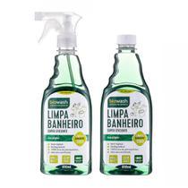 Kit Limpa Banheiro Refil Eucalípto - BioWash -