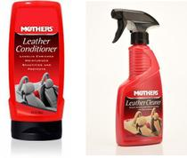 Kit Limpa E Hidrata Couro Mothers Auto Limpeza Hidratante -