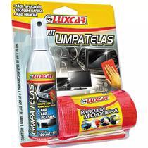 Kit Limpa Telas Luxcar Spray 4780 100ml Tv Led E Plasma -