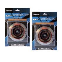 Kit limpador de lentes para aparelhos de cd - dvd e cd-rom 02 und. - NEWNESS