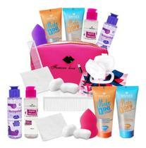 Kit Limpeza Facial Pele Demaquilante Para Maquiagem - SHINES