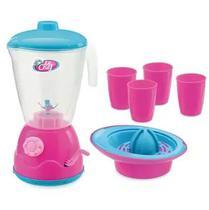 Kit Liquidificador Le Chef Infantil Menino e Menina - Usual Brinquedos -