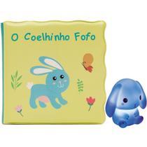 Kit livrinho de banho com coelhinho Buba -