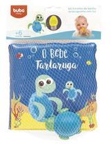 Kit Livrinho de Banho e Tartaruguinha Buba - Buba toys