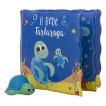 Kit livrinho de banho e tartaruguinha - Buba
