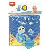 Kit Livrinho de Banho e Tartaruguinha - Buba -