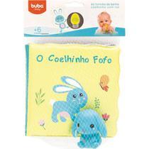 Kit Livrinho de Banho para Bebê e Coelhinho 6m+ Buba 7496 -