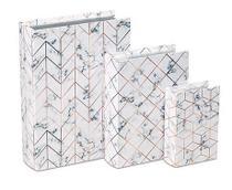 Kit Livro Caixa 3pc 10201 Mart -
