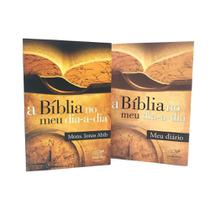 kit Livro + Diario A Biblia no meu dia a dia Monsenhor Jonas Abib - Canção Nova