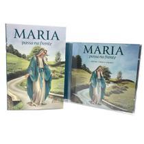 Kit Livro Novena E Cd Maria Passa Na Frente - Paulinas