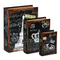 Kit Livro Paris 3 Peças - Mart