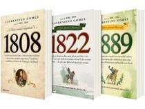 Kit Livros 1808 1822 1889 Edição Juvenil Ilustrada - Laurentino Gomes