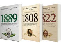 Kit Livros 1889 1808 1822  - Laurentino Gomes