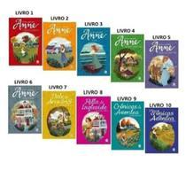 Kit livros anne de green gables - 10 volumes (coleção completa) - Ciranda Cultural -