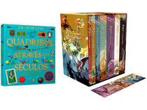 Kit Livros Box Harry Potter + Livro - Quadribol Através dos Séculos J. K. Rowling