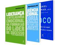 Kit Livros Daniel Goldeman - Inteligência Emocional + Foco + Liderança