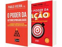 Kit Livros de Paulo Vieira O Poder da Ação - O Poder da Autorresponsabilidade