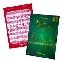 Kit Livros de Teoria Musical + Solfejo Bohumil Med - Musimed - Editora