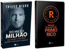 Kit Livros Do Mil ao Milhão + Método Financeiro - Do Primo Rico Thiago Nigro