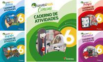 Kit Livros Escolares: Araribá Plus - 6º Ano-Série (Somente Caderno) - Moderna -