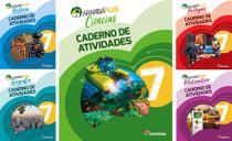 Kit Livros Escolares: Araribá Plus - 7º Ano-Série (Somente Caderno) - Moderna