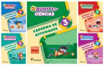 Kit Livros Escolares: Buriti Plus - 3º Ano-Serie (Somente Caderno) - Moderna -