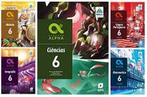 Kit Livros Escolares: Col. Geração Alpha - 6º Ano-Série - Bncc - Edicoes Sm - Didatico -