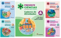 Kit Livros Escolares: Col Presente - 4º Ano-Serie (Somente Caderno) - Moderna