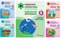 Kit Livros Escolares: Col Presente - 5º Ano-Serie (Somente Caderno) - Moderna