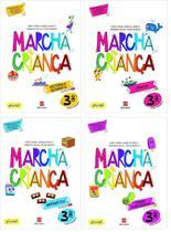 Kit Livros Escolares: Coleção. Marcha Criança - 3º Ano-Série - Scipione (Didaticos) - Grupo Somos